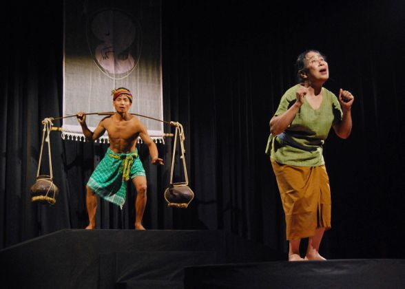 Dakghar play, by  Kalakshetra Manipur, directed by H Kanhailal, 2009