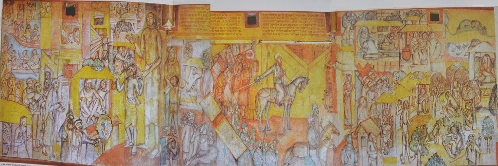 Life of Medieval Saints, North wall, Hindi Bhavan_WEB