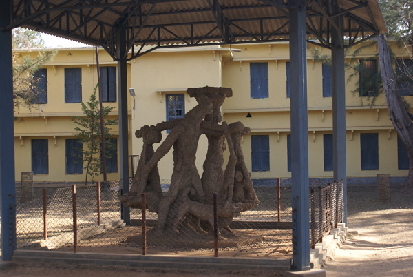 Santhal Family sculpture