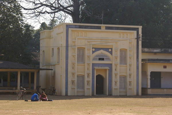 The Kala Bhavan campus, Visva Bharati University, Santiniketan, building
